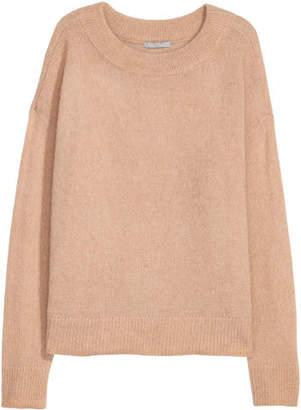 H&M Wool-blend Sweater - Beige