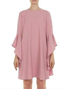 Ted Baker Ashleyy Fluted Sleeve Dress