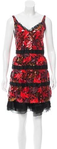 Marc JacobsMarc Jacobs Sequin Sleeveless Dress