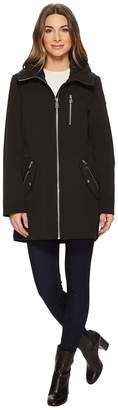 Calvin Klein Softshell Anorak with Hood Women's Coat
