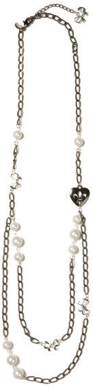 Layered Charm Chain Necklace