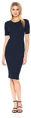 Milly Women's Italian Stardust Rib Dress