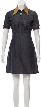No.21 No. 21 Denim Mini Dress