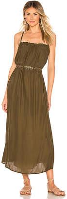 Mikoh Nagano Silk Maxi Dress