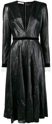 Philosophy di Lorenzo Serafini 'Plastic' long dress