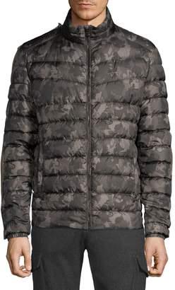 Strellson Slim-Fit Camo Puffer Jacket