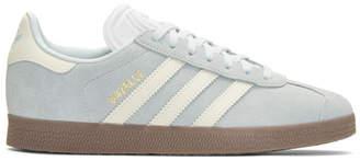 adidas Blue Suede Gazelle Sneakers