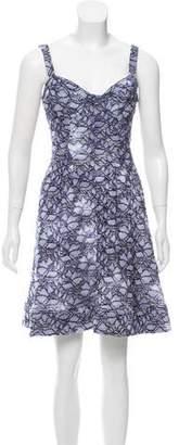Zac Posen Z Spoke by Guipure Lace Mini Dress