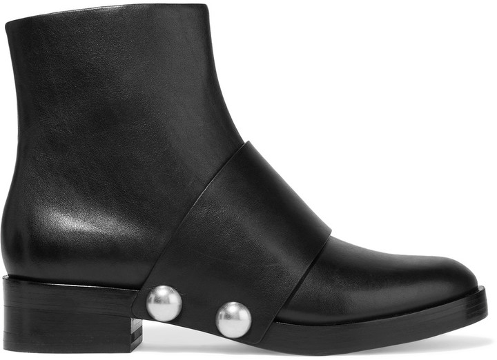 Alexander WangAlexander Wang Hanne leather ankle boots