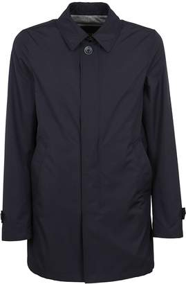 Herno Concealed Front Closure Raincoat