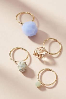 Anthropologie Remnants Ring Set