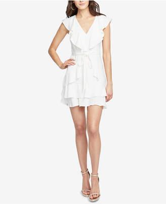 Rachel Roy Ruffled Fit & Flare Dress