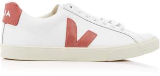 Veja Espar Logo Leather Sneaker