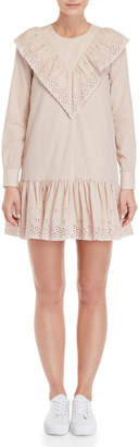 Paul & Joe Sister Orlane Broderie Anglaise Shift Dress