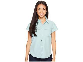Columbia Pilsner Peak Novelty Short Sleeve Shirt Women's Short Sleeve Pullover