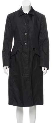 Prada Fur Lined Long Coat