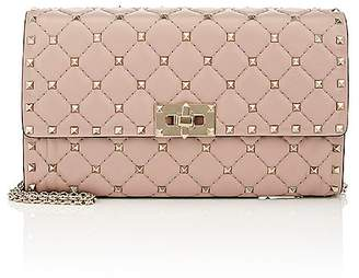 Valentino Women's Rockstud Spike Leather Shoulder Bag