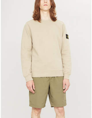 Stone Island Crewneck cotton-jersey sweatshirt