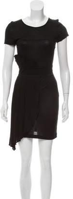 Fendi Short Sleeve Mini Dress