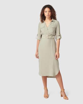 Forever New Imogen Safari Shirt Dress