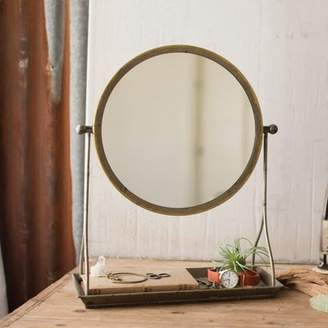 Gracie Oaks Pacome Frame Makeup/Shaving Mirror