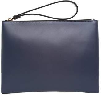 Marni Bi-colour Smooth-leather Clutch