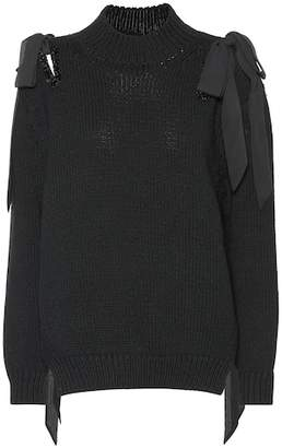 Simone Rocha Merino wool sweater
