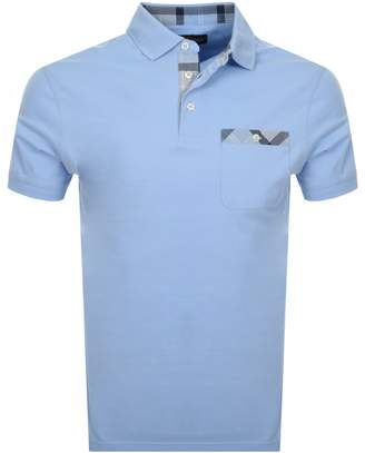 Barbour Drumfad Polo T Shirt Blue