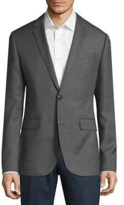 HUGO BOSS Textured Wool Sportcoat