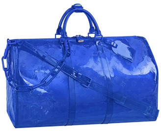Louis Vuitton Keepall Monogram Empreinte 50 Bleu
