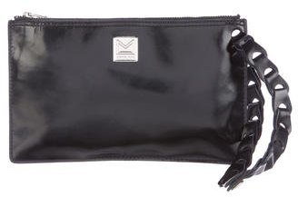 MICHAEL Michael Kors Michael Kors Glazed Leather Wristlet