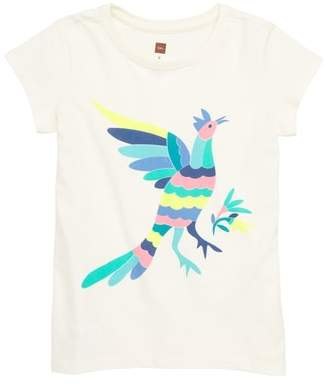 Tea Collection Otomi Bird Graphic Tee