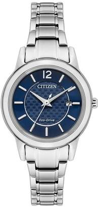 Citizen Ladies' Stainless Steel Blue Dial Watch