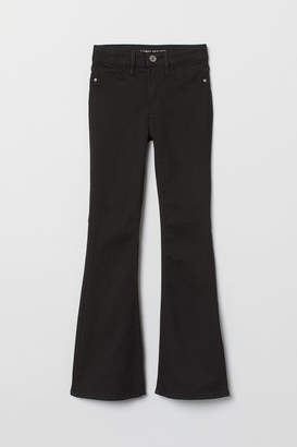 H&M Flare High Jeans - Black