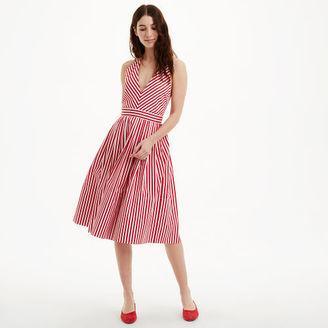 MDS Stripes Halter Dress $595 thestylecure.com