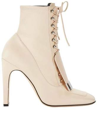 Sergio Rossi Sr1 Lace-up Leather Booties