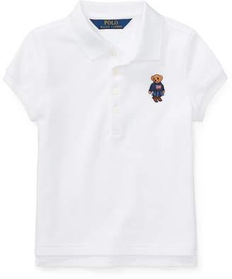 Polo Ralph Lauren Bear Mesh Polo Shirt