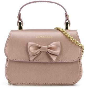 MonnaLisa bow front shoulder bag