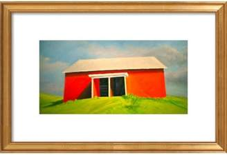 Head On Barn Framed Giclee Print, Artfully Walls