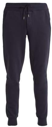 Moncler Basic Slim Leg Cotton Track Pants - Mens - Navy