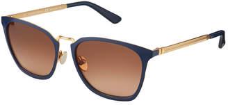Calvin Klein Collection Square Metal Sunglasses