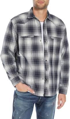 MR. COMPLETELY Western Flannel Slim Shirt