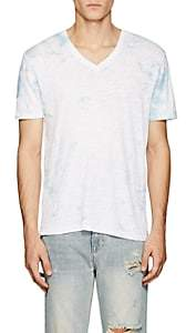 ATM Anthony Thomas Melillo Men's Tie-Dyed Slub Cotton T-Shirt - White
