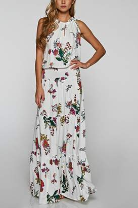 Factory Unknown Halter Maxi Dress