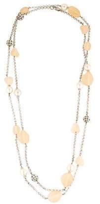 Isaac Mizrahi Crystal & Resin Necklace