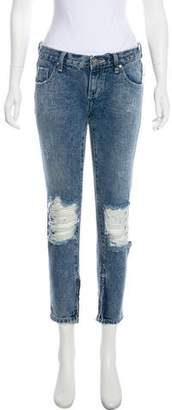 One Teaspoon One x Low-Rise Skinny Jeans w/ Tags