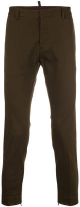 DSQUARED2 casual cropped chinos