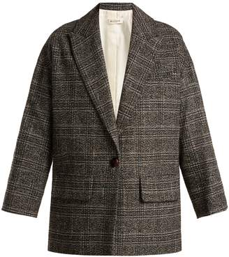 Masscob Carter checked blazer