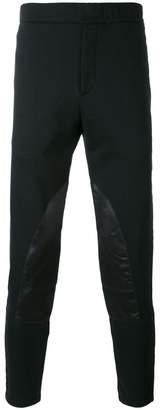 Alexander McQueen panelled track pants