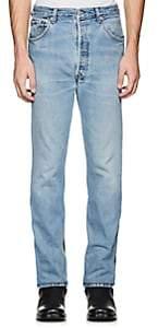 Vetements Men's Levi's® Denim & Latex Straight Jeans